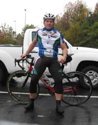 Nuckols races for the Annapolis Bike Racing Team